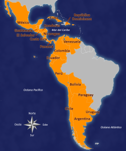 paises hispanohablantes de america