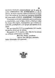 """Detalle del texto provisional de la Constitución de Entre Ríos, que en su art. 109 establece que """"son ciudadanos (...) todos los hijos nativos de ella y demás americanos naturales de cualquier Pueblo ó Provincia de los territorios que fueron españoles en ambas Américas"""""""