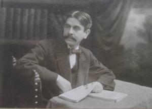 Alberto Masferrer, escritor, filósofo y político nacido en Alegría (El Salvador) en 1868 y fallecido en Tegucigalpa (Honduras), en 1932.