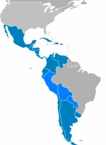 """Con 400 millones de habitantes, una historia, cultura y lengua comunes, Hispanoamérica es una nación """"invisible"""" ante el mundo por su falta de unidad política."""