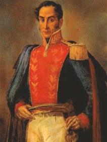 """Simón Bolívar, refiriéndose a la América española, afirmó que """"una sola debe ser la patria de de todos los americanos, ya que en todo hemos tenido una perfecta unidad"""""""