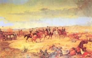 La batalla de Ayacucho, óleo de Martín Tovar y Tovar