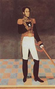 Retrato de Simón Bolívar, por José Gil de Castro (Lima, 1825)