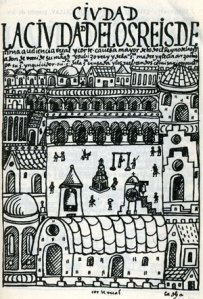 La Plaza Mayor de Lima, según Felipe Guamán Poma de Ayala, siglo XVII.