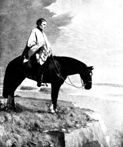 """Artigas en el Hervidero, óleo de Carlos María Herrera. """"Karaí-Guasu"""" (también escrito """"karay-guazú"""") es una expresión guaraní que suele traducirse como """"Gran Señor"""" y fue un título otorgado a líderes carismáticos del siglo XIX identificados como """"caudillos"""", entre ellos José Gervasio Artigas, que durante su exilio en el Paraguay fue reconocido por los indñigenas como el """"Padre de los Indios""""."""