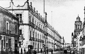 Real Casa de la Moneda de México, obra del arquitecto Juan Peinado, contruida en el siglo XVIII. Hoy es el Museo Nacional de las Culturas.