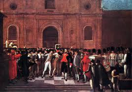 """La primera Junta de Caracas (abril de 1810) convocaba a """"la obra magna de la confederación de todos los pueblos españoles de América""""."""