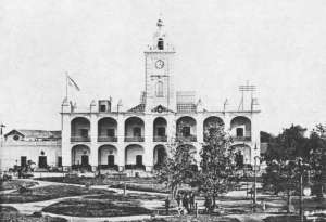Antiguo cabildo de Santa Fe