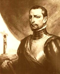 """Gómez Suárez de Figueroa, apodado Inca Garcilaso de la Vega (1539-1616) es considerado """"el primer mestizo biológico y espiritual de América"""" y una de las máximas fighuras intelectuales de la América hispana. Asumió y concilió tanto la herencia cultural indígena como la española."""