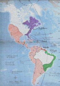 mapa grandes naciones americanas