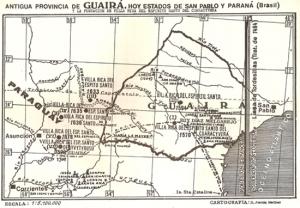Anrigua provincia Guayra