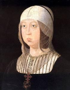 Isabel la Católica, en un retrato de 1474 atribuido al pintor Bartolomé Bermejo (Palacio Real de Madrid).