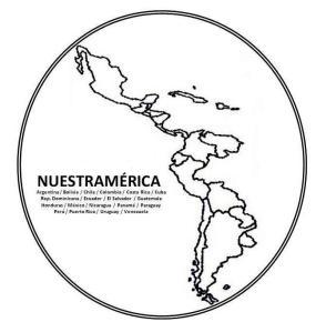 Nuestramerica mapa