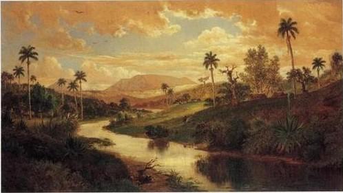 Paisaje con río (1877)