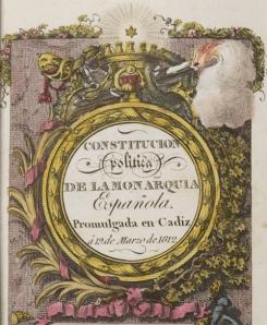 La Constitución de Cádiz de 1812 fue una de las más liberales del mundo y reconoció la igualdad de los ciudadanos de un mismo Estado en ambos hemisferios. Sin embargo, fue combatida por los sectores más reaccionarios, que al final provocaron la separación de Hispanoamérica y su sometimiento al imperialismo británico.