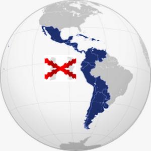 hispanoamerica y cruz borgoña