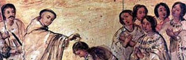 bautismo de indios detalle