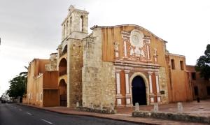Convento de los Dominicos, en Santo Domingo. Aquí se fundó mediante bula papal la Universidad Santo Tomás de Aquino en 1538, aunque no fue oficializada hasta 1558. Su heredera es la actual universidad de Santo Domingo.