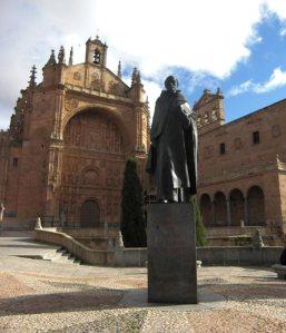 La Universidad de Salamanca fue, junto con la de Alcalá de Henares,