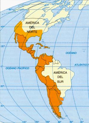 Extensión de la lengua española en América