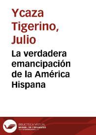 Portada de una de las obras de J. Ycaza Tigerino, quien escribió ampliamente sobre el proyecto de unidad hispanoamericana como esperanza de regeneración del mundo occidental.